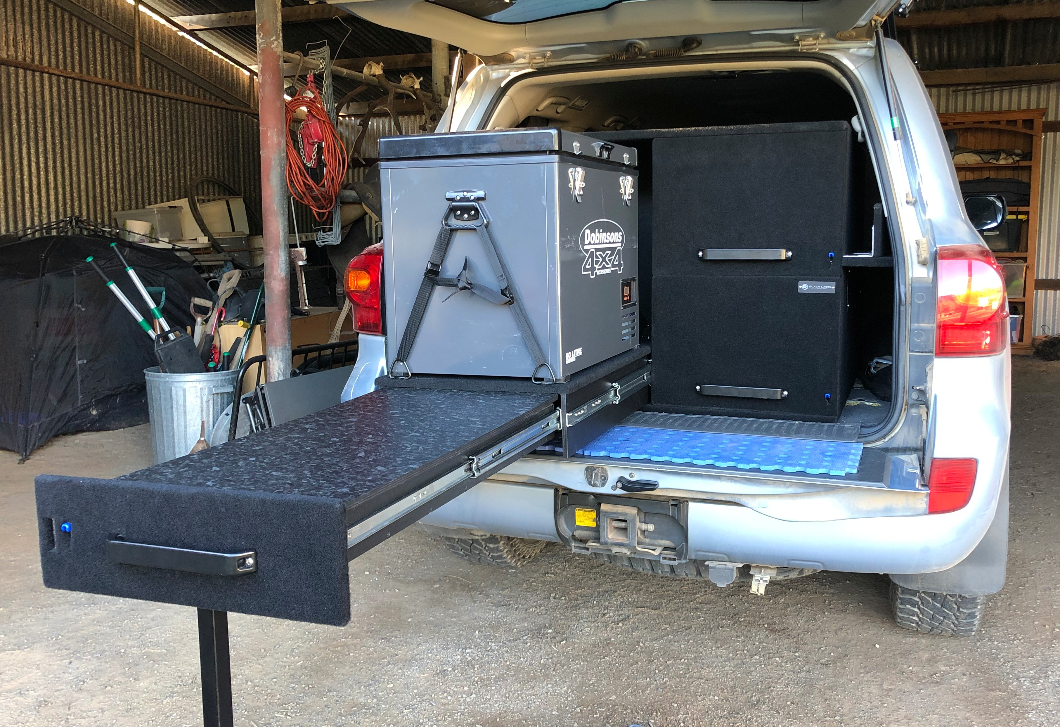 Black Label Storage Solutions 4WD Drawers